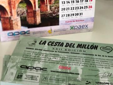 El 68664 número premiado en la XXII Edición  de la Cesta del Millón